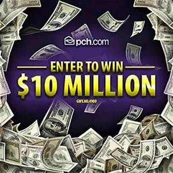 PCH Win 10 Million Dollars Sweepstakes | pch entry | Publisher