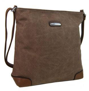 Dámský elegantní batoh FLORA CO F6347 šedý  0b77e1883f