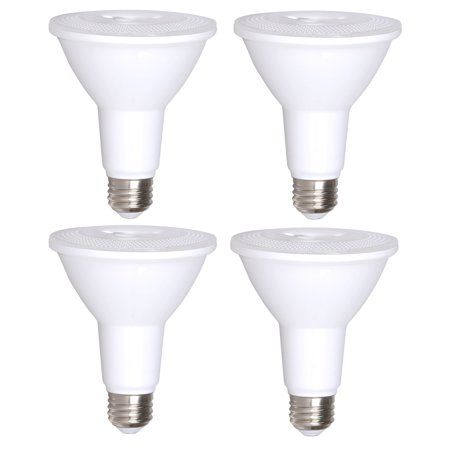 4 Pack Par30 Led Bulb 12w Dimmable Flood Light Bulb 100w Halogen Bulb Replacement 850 Lumen 3000k Indoor Outdoor Ul List Light Bulb Led Bulb Led Light Bulb