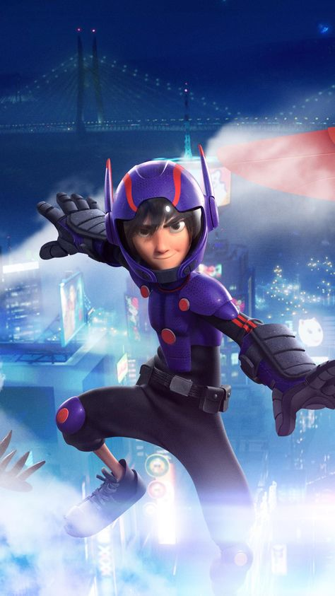 Big Hero 6 (2014) Phone Wallpaper | Moviemania