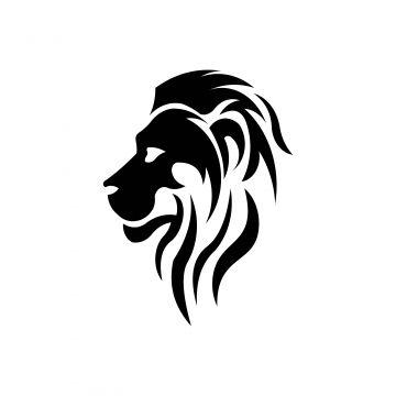 Lion Head Wild Cat Face Graphic Sign Strong Power Concept Symbol Design Element Lion King Cat Face Symbol Design Wild Cats