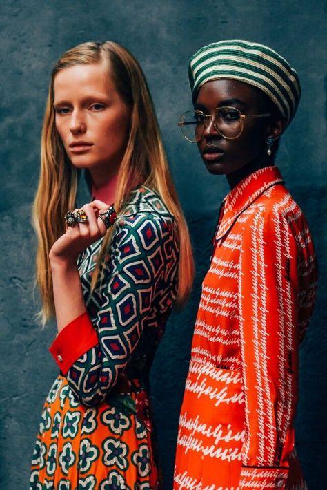 gucci spring 2016 by tommy ton Fashion Week, Runway Fashion, High Fashion, Fashion Beauty, Fashion Show, Womens Fashion, Gucci Fashion, Style Fashion, Tommy Ton