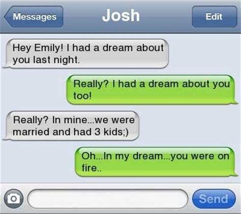 flirty text message ideas