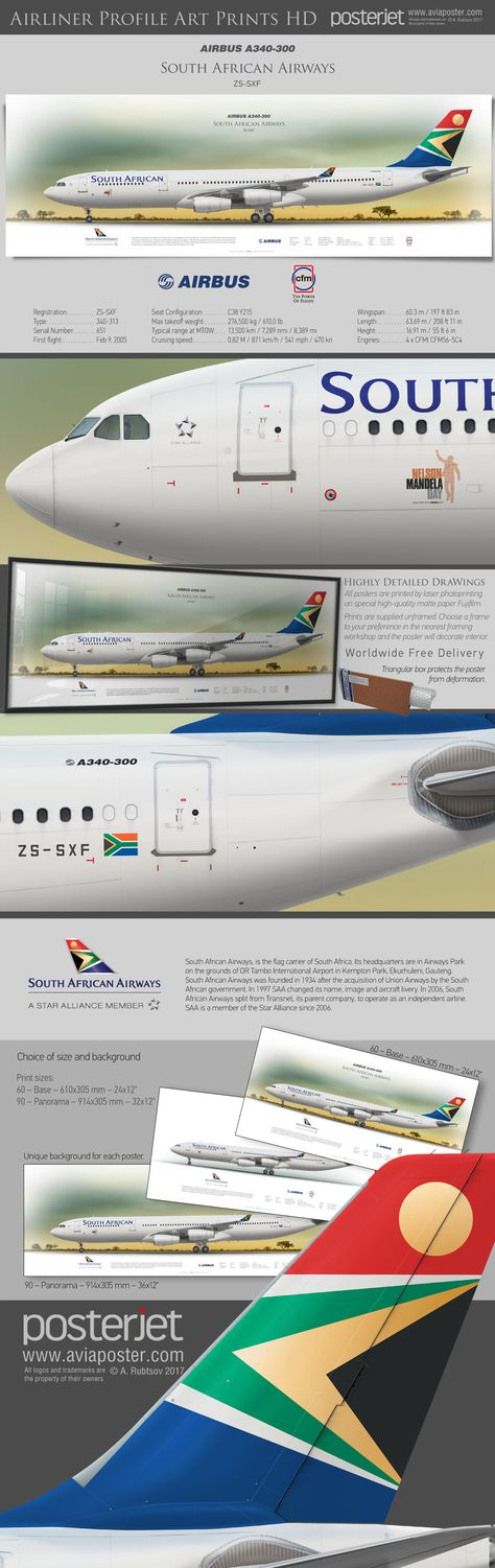 boeinglovers Airbus A340-300 South African...