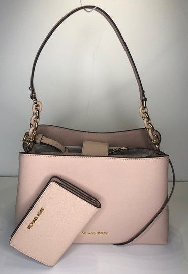 Michael Kors Sofia Large Ew Tote Bundled With Ballet Leather