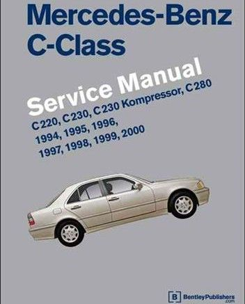 Free Download Mercedes Benz C Class W202 1994 2000 Service Manual Pdf Scr1