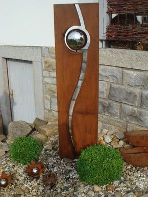 Rostwerk A B Metall Gartenkunst Baum Skulptur Fantastische Kunst