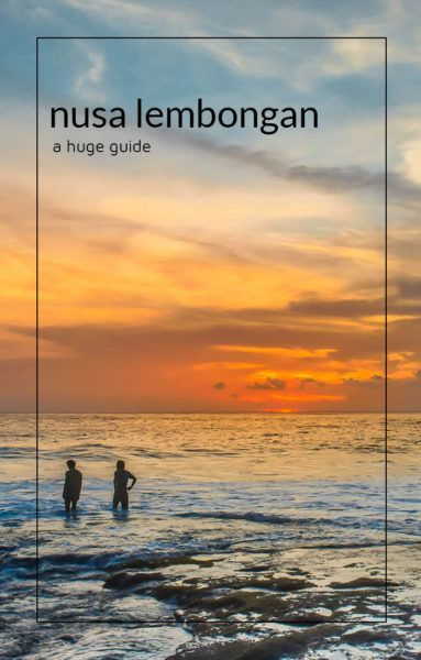 Nusa Lembongan is quickly becoming a must see destination for travellers to Indonesia's Bali. Inside are some of the best things to do on Nusa Lembongan as well as where to stay, where to eat, and how to get around.