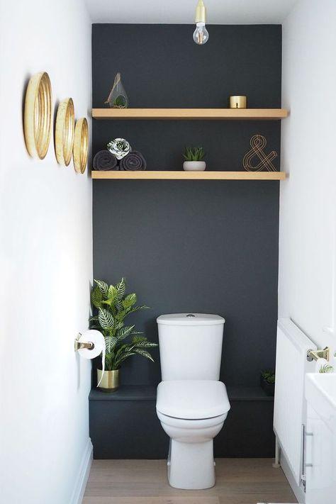 100 Idees De Toilette Wc Styles Toilettes Deco Toilettes Decoration Toilettes