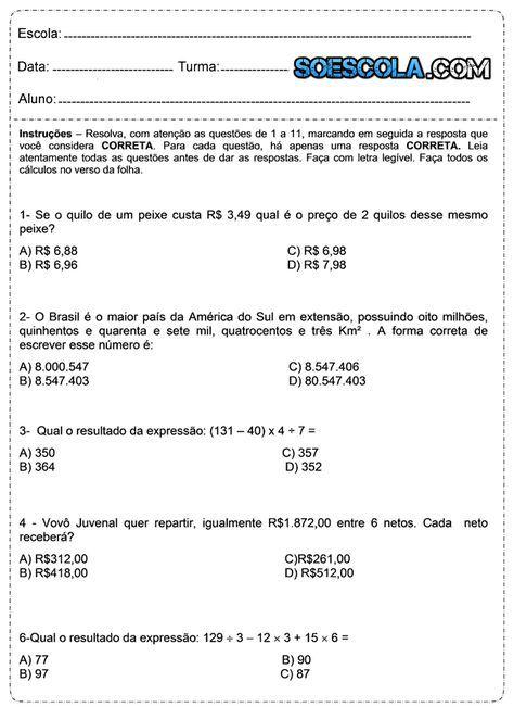 Baixe Em Pdf Problemas De Matematica Atividades De Matematica