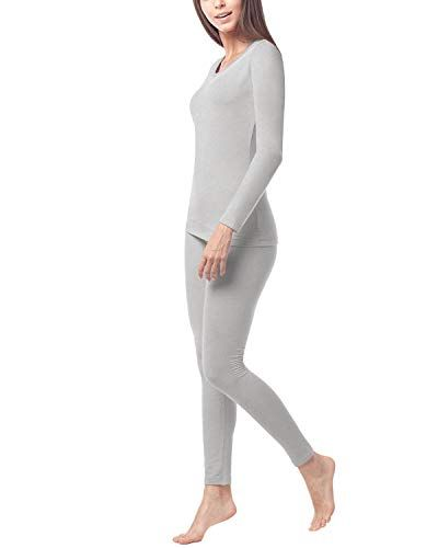 Ropa Termica Para Mujer Camiseta Pantalon Brushed Back Fabric Technique L17 Ropa Termica Ropa Ropa Para El Frio