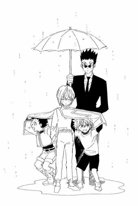 Hunter x Hunter - Gon, Killua, Leorio, Kurapika! Armer Kurapika :D Hisoka, Killua, Leorio Hxh, Hunter X Hunter, Anime Hunter, City Hunter, Manga Anime, Me Anime, Girls Anime