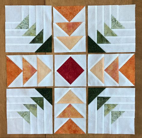 Patchwork Patterns, Patchwork Quilting, Scrappy Quilts, Quilt Block Patterns, Mini Quilts, Quilt Blocks, Log Cabin Quilt Pattern, Log Cabin Quilts, Log Cabin Patchwork