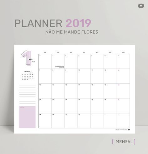 Monthly Planner Printable Blog Planner Free Monthly Planner