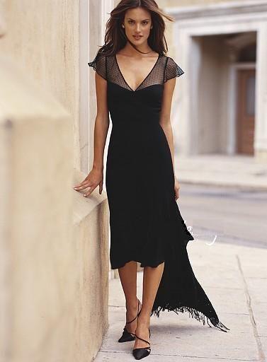 Victoria S Secret Sukienka Koronka Czarna 2 Xs S High Low Dress Dresses Fashion