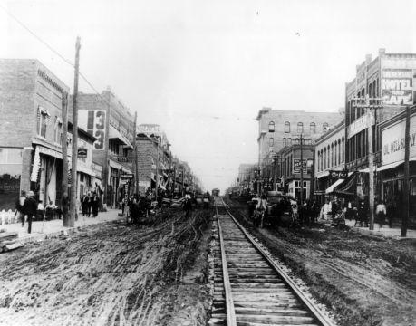 On The Move Tulsa Transportation History Oklahoma History