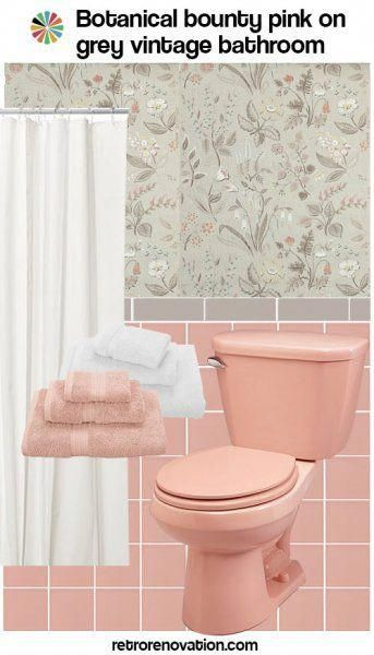 Green Bathroom Sets Bluegreenbathroom Pink Bathroom Tiles Pink