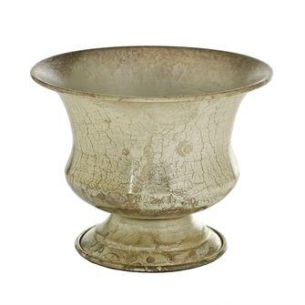 Sidney Metal Urn 6 25 X 5 Antique Gold Urn Vase Small Urns