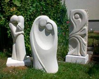 Купить фигурки для сада из бетона бетон для теплого пола купить