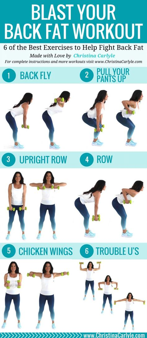 The Best Back Exercises with Dumbbells for Women