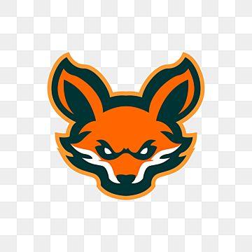 Fox Head Mascot Logo Design Illustration Mascot Animal Png And Vector With Transparent Background For Free Download In 2021 Logo Illustration Mascot Design Logo Design