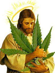 Иисус марихуана карандашом марихуану