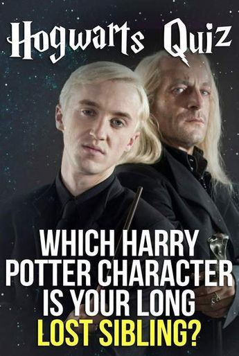 Hogwarts Quiz: Which Harry Potter Character Is Your Long Lost