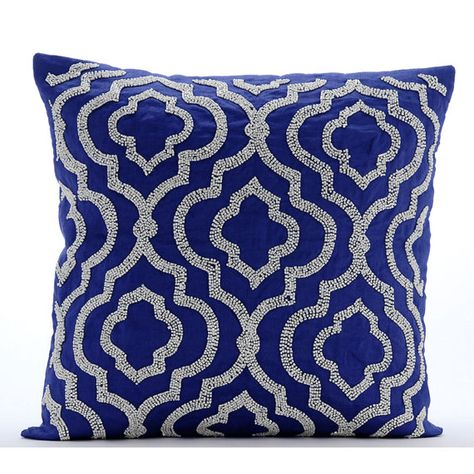 Ecru Homey Cozy Satin Jacquard Throw Pillow Cover,Silk Series Large Sofa Couch Cushion Decorative Pillow Case 20 x 20 Inch Cover Only /…