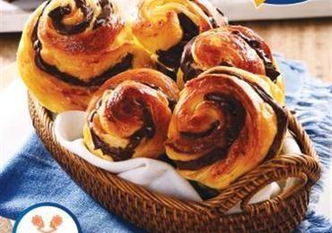 Choco Danish Pastry Bogasari Pastry Resep Makanan