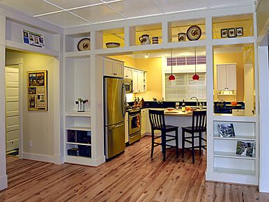 Craftsman Style Room Divider I Love These Cabinets Had In Sacramento And San Francisco On Grove Street Cherbear Pinterest