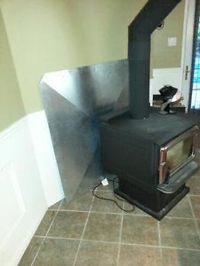 32 Stove Heat Shields Ideas Stove Heat Wood Stove