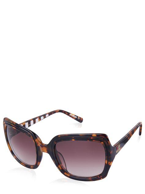 günstig kaufen zuverlässigste Genieße den niedrigsten Preis Love Moschino Sonnenbrille ML528S02 braun 39€ | Fashionesta ...