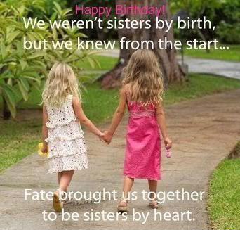 Birthday Wishes For Best Friend Sister