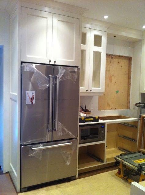 Photo5 2 Jpg Photo By Cb550f Photobucket Kitchen Cabinet Remodel Refrigerator Cabinet Kitchen
