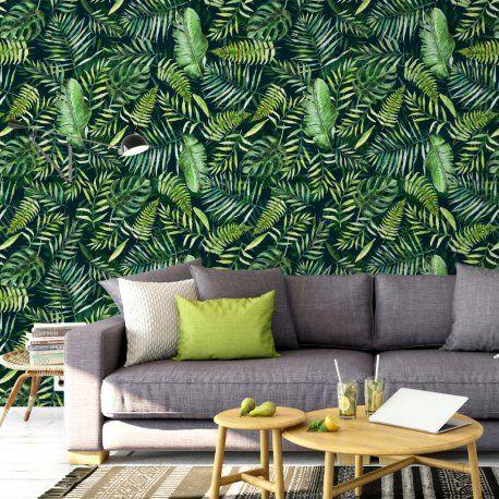 Tapeta Na Sciane Perfect Jungle Pillows Wallpaper Home
