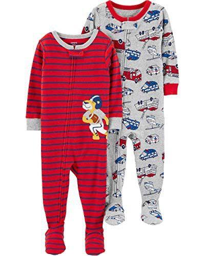 Carters Baby Boys 2-Pack 2 Piece Cotton Pajamas
