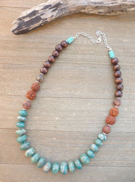 Tribal Beaded necklace for women Protective Amethyst Mystical Karen Hill Tribe People Jewelry moonstone gemstones necklace gift for women