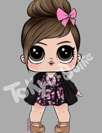 24 Ideas Baby Ilustration Cute Sweets Lol Dolls Doll Drawing Lol