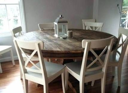 Farmhouse Table Round Living Rooms 58 Ideas Farmhouse With