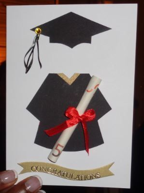 Graduation Money Gift Card Sponsion Karte Geld Gutschein Card