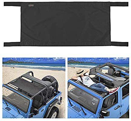 Amazon Com Seven Sparta Car Roof Hammock For Jeep Wrangler Yj Tj Jk Jku 1987 2018 4 Door And 2 Door Waterproof Car B Jeep Wrangler Yj Waterproof Car Jeep