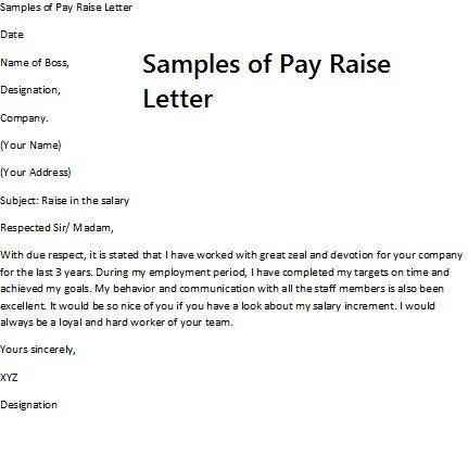 Related Image With Images Salary Increase Letter Of