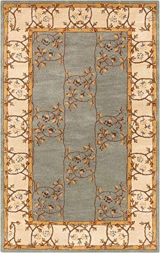 Stringer Traditional Vintage Persian 12 X 15 Rectangle Traditional 100 Wool Sage Beige Burnt Orange Dark Brown Tan Area Rug Area Rugs Rugs Floral Vine