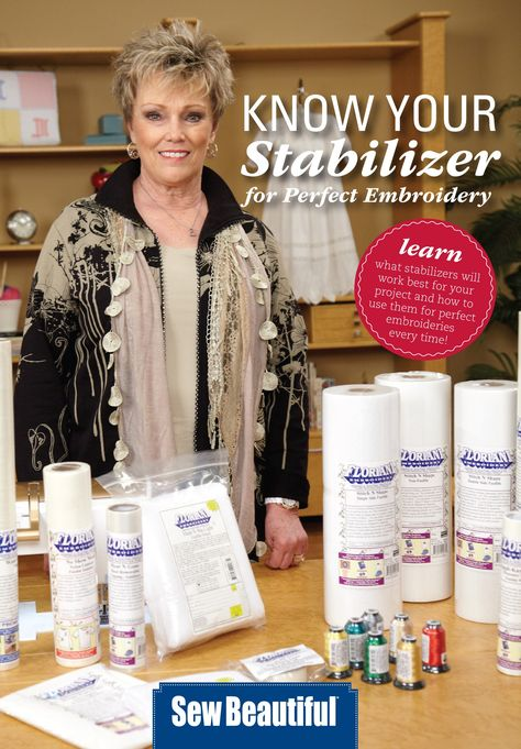 Know Your Stabilizers - Download... Debbie is one of the best educators around...