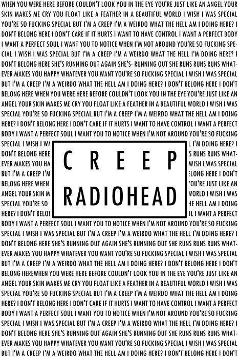 Creep Radiohead Piano Cover Lesson With Chordslyrics Youtube