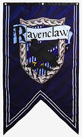 Ravenclaw Flag Google Search Harry Potter Party Decorations Harry Potter Houses Crests Hogwarts Sign