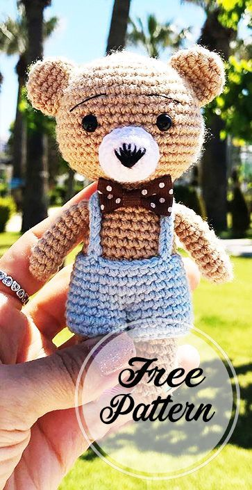 Crochet Teddy Bear Patterns | Crochet teddy bear pattern, Crochet ... | 705x363