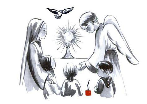 Petites prières à réciter devant le Saint-Sacrement