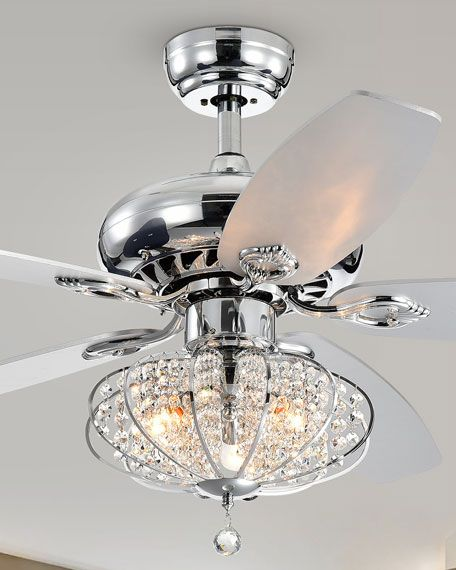 Catrine Chrome 52 Ceiling Fan With Metal Globe Shade In 2020 Ceiling Fan Light Kit Ceiling Fan Ceiling Fan With Light
