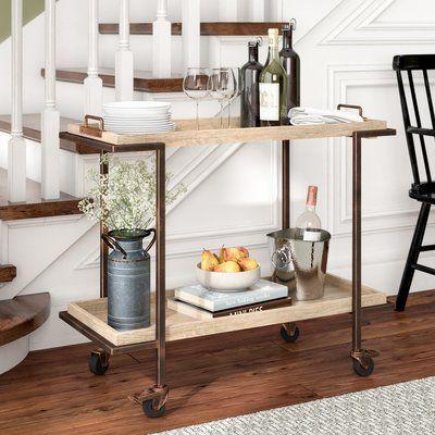 Laurel Foundry Modern Farmhouse Hailee Bar Cart